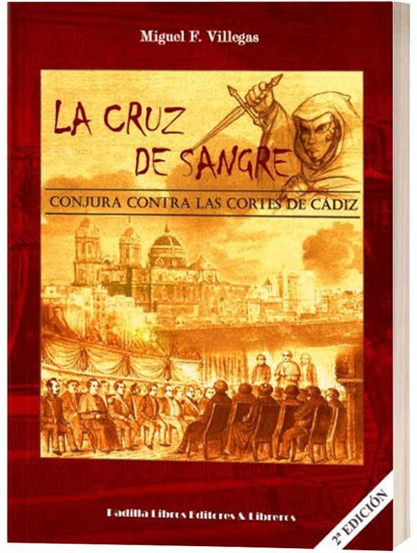 La cruz de sangre, mockup de la novela