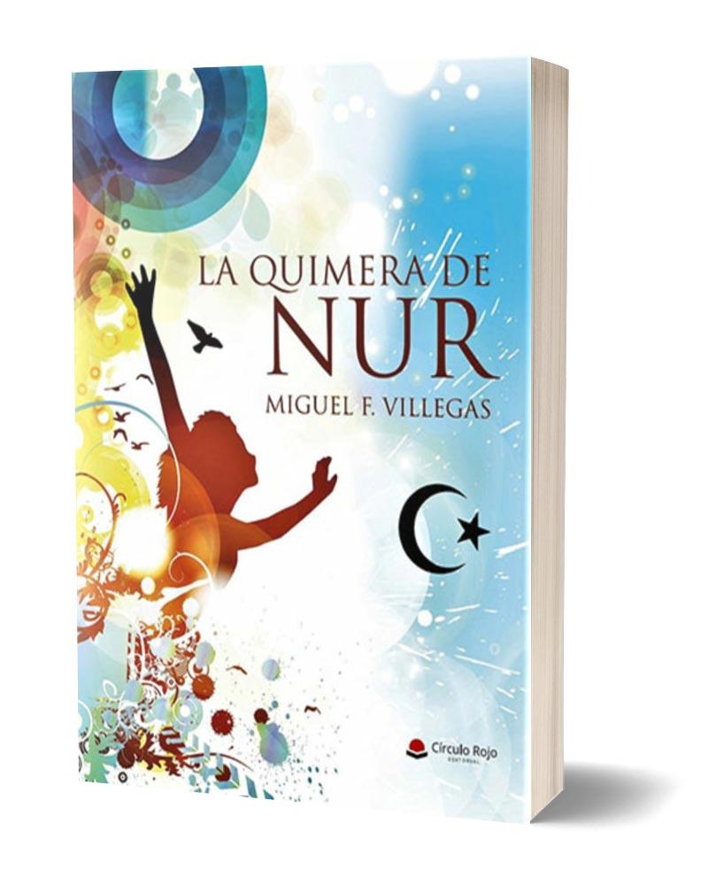 La Quimera de Nur, mockup wider de la novela