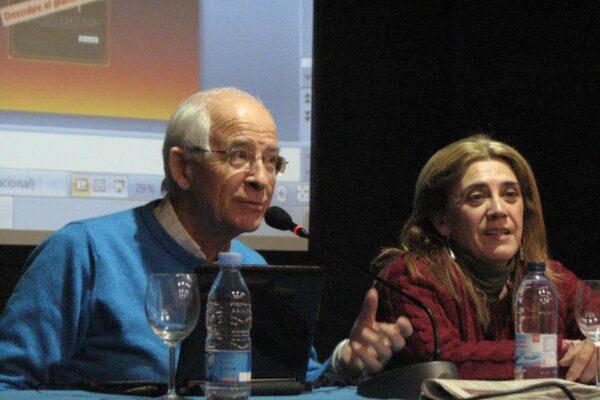 Miguel F. Villegas en la Biblioteca de Montequinto