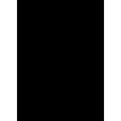 Icono de una partitura